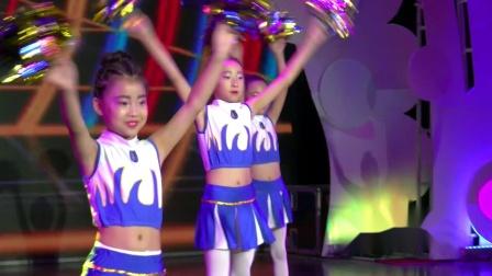 荷花舞韵7.8比赛,圆之舞舞蹈学校比赛节目:动感啦啦操