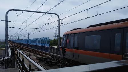 南京地铁s8号线(001002)出金牛湖站。