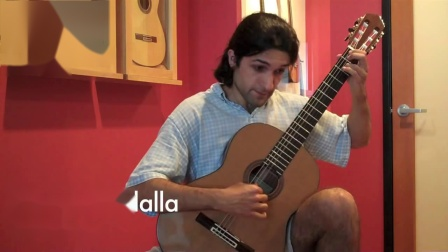西班牙John Ray 约翰 雷伊-音乐会吉他试听Thiago Abdalla
