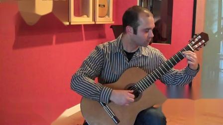 西班牙John Ray 约翰 雷伊-音乐会吉他试听 Scott  Wolf