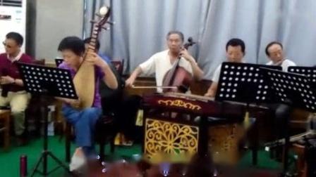 我在黄梅戏《谯楼上》演唱 牛贺琴 主胡 李万昌大师(里面字幕也应改牛贺琴)截了一段小视频