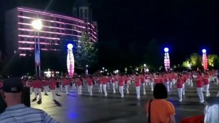 浙江省淳安县千岛湖,全民健身开幕8月8号晚《雪》现场拍摄。