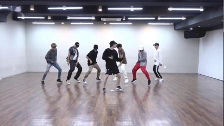 BTS防弹少年团 - Idol舞蹈教学 练习室镜面