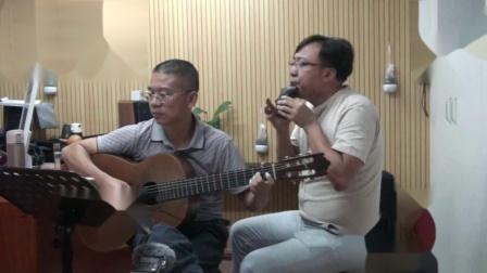 GuitarManH------《故乡的原风景》埙吉他合奏