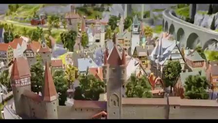 火车模型主题乐园大梦微城广告样片