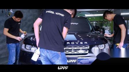 路虎揽胜运动版-UPPF隐形车衣施工-