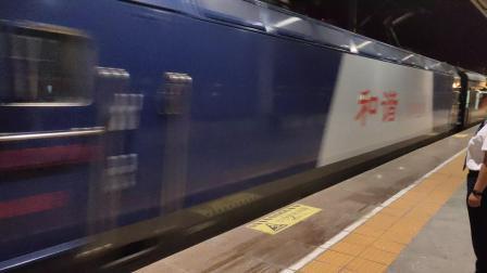 客车K205青岛-成都进汉中站一道