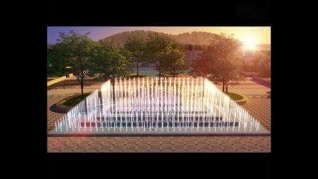 上海嘉跃喷泉-乌海奥运公园动画