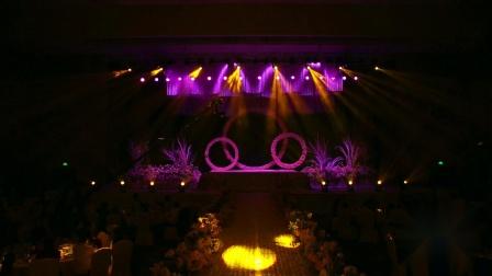 婚礼灯光秀