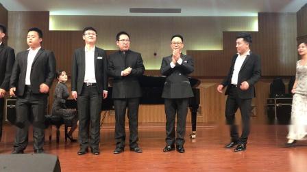 返场曲目《奇妙和谐》演唱:蒋志伟  伴奏:赫媛媛