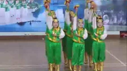 《蒙古人》原创健身球操.