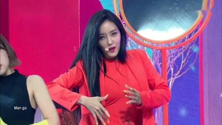 朴孝敏 新曲《MANGO》舞台首秀,性感舞蹈惊艳全场