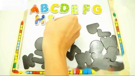 歌曲孩子们用字母学习字母表