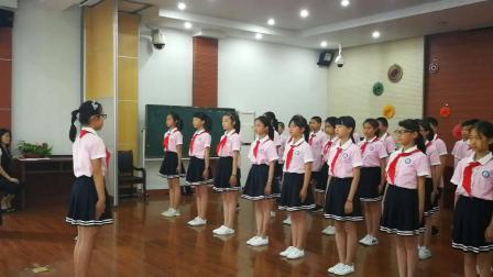 五4班队活动仪式录像1