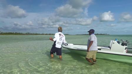 巴哈马海滩飞蝇钓