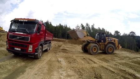 【最后一次更新!】卡特彼勒 972M装载机装车