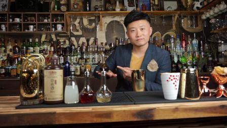 调酒于洋老师中式鸡尾酒—秋意浓(祝中秋佳节快乐)