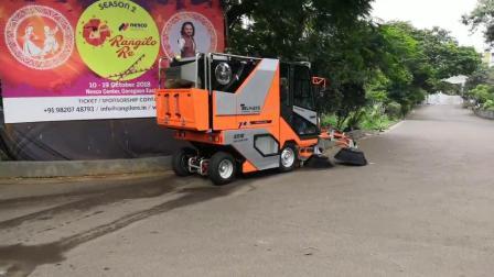 多功能扫路机QTH8501在印度