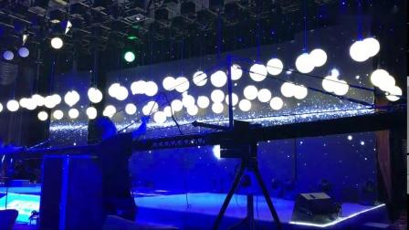 LED升降彩球矩阵灯