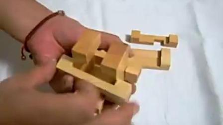 孔明锁笼中取宝视频讲解