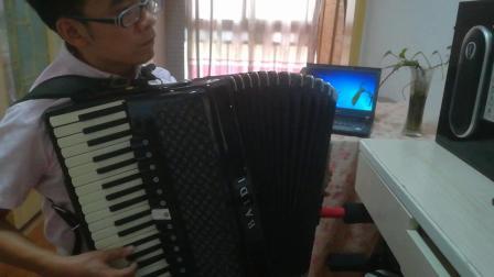 今天是你的生日,我的中国(手风琴)