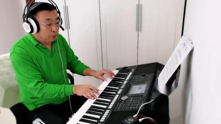 《潜海姑娘》电子琴S950演奏  陈杰