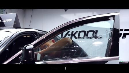 VKOOL-UPPF-劳斯莱斯隔热膜施工