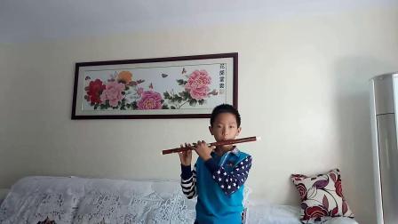笛子独奏:《又见山里红》学生:孟繁达