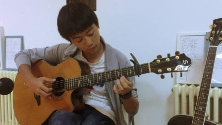 指弹吉他独奏 《Flower》  by  姜昊