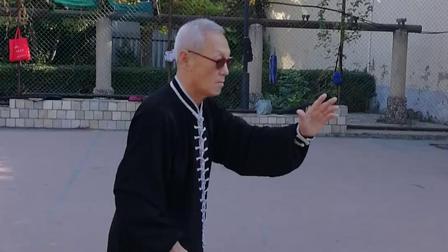 20181007徐老师杨氏太极十三刀示范(上)