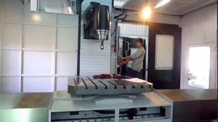 台湾新卫UMC-2000卧式五轴加工中心/立卧转换
