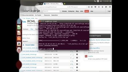 RCML一Linux 快速启动说明