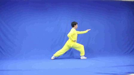 少儿武术比赛大班【长拳】示范