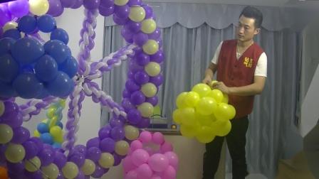 气球旋转木马、旋转风车、旋转摩天轮制作视频教程2
