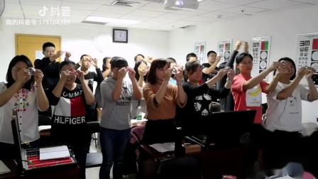 北京启航视光刘春老师拍摄 镜片目测中和
