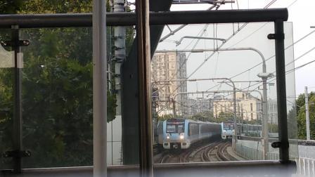 南京地铁一号线(101102)出安德门站;(093094)进安德门站。