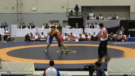 平成30年度インターハイ・個人対抗戦 男子125kg級 決勝 奥村総太 vs 宮本海渡