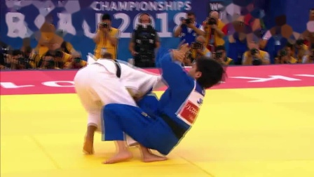 The Top 1 Ippon at Baku World Judo Championships 2018 the Kimura in action