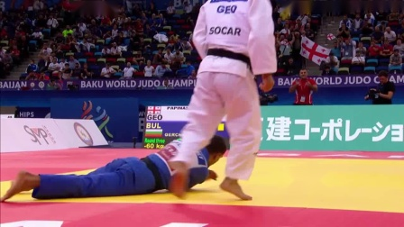 The Top 6 Ippon at Baku World Judo Championships 2018