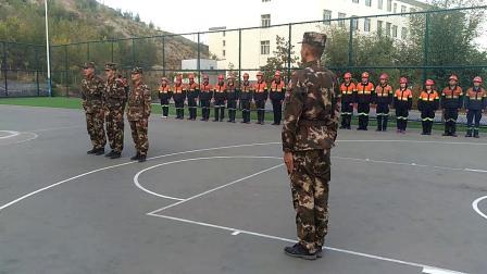 2018年军训会操标准