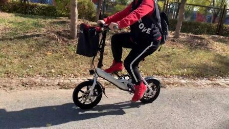 FIIDO D3折叠电助力自行车综合路试