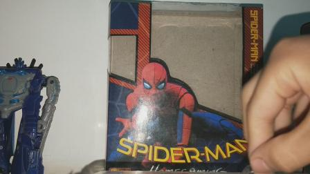 小崔玩具:万代蜘蛛侠shf,拿到手后觉得还行