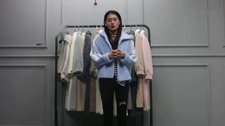 10月21日杭州越袖服饰(黄金貂大衣系列)多份 10件  2700元【注:不包邮】
