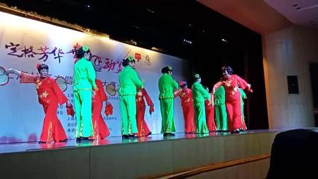 上海市青浦区练塘镇小蒸 飞翔舞蹈队《俏夕阳》