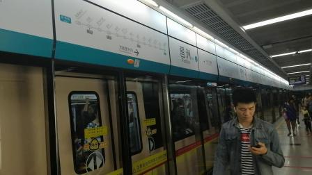 广州地铁八号线 A6 08X169 170 琶洲下行出站