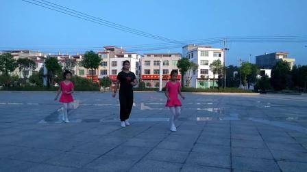 会昌麻州梦想广场舞,歌在飞