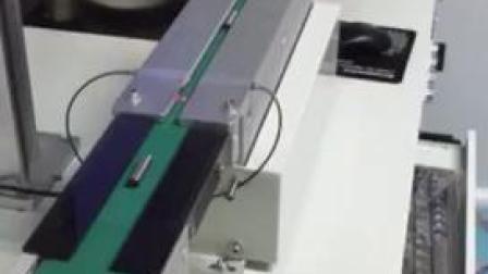 紫外配合振动盘激光打标电子零件