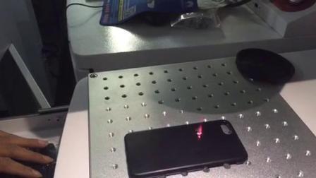 手机壳激光打标