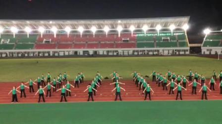 广场舞《体育强 中国强》排练视频