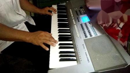 电子琴演奏〈〈母亲〉〉